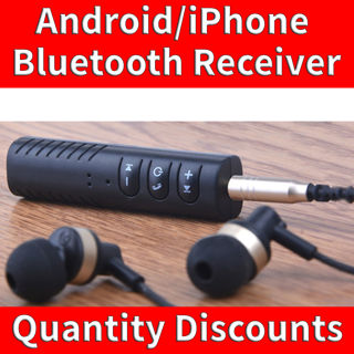Picture of Wireless Bluetooth Receiver Audio Music Car AUX 3.5mm Adapter Cable Android