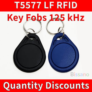 Picture of T5577 125KHz LOW FREQUENCY RFID ID KEY FOB TAG READ WRITE PROXIMITY T5567 T5557